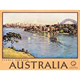 Wee Blue Coo Prints TRAVEL Sydney Australia Harbour Bridge