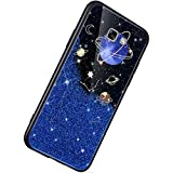 Herbests Compatible avec Samsung Galaxy A7 2017 Coque Paillettes Sparkle Bling Brillante Glitter...