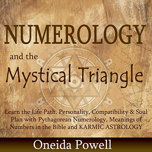 Numerology and the Mystical Triangle audiobook cover art