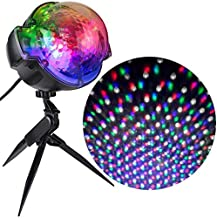 Gemmy Lightshow Projection Multi-Colored Snowflurry Stake Light Indoor/Outdoor Holiday Decoration Projector