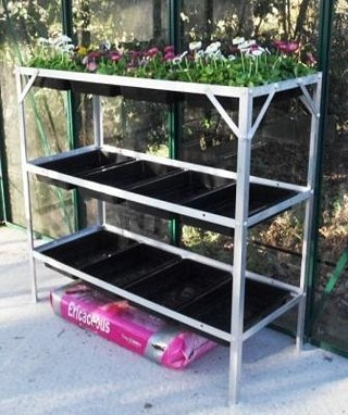 Tibshelf Garden Products Greenhouse Staging