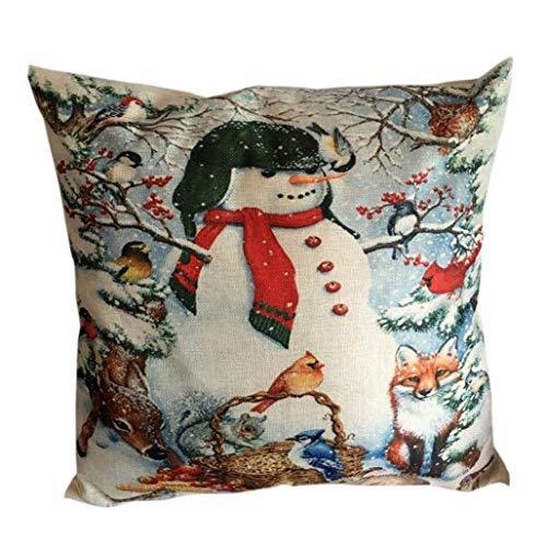 Eastery Kerstmis pluizig hoeslaken huis sofakussensloop kussen moderne hoge bekleding zacht eenvoudige stijl katoen nieuw