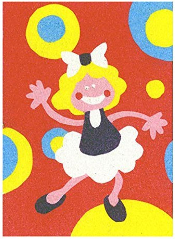 Sandtastik Peel N Stick Sand Art Board  9  Dancing Girls