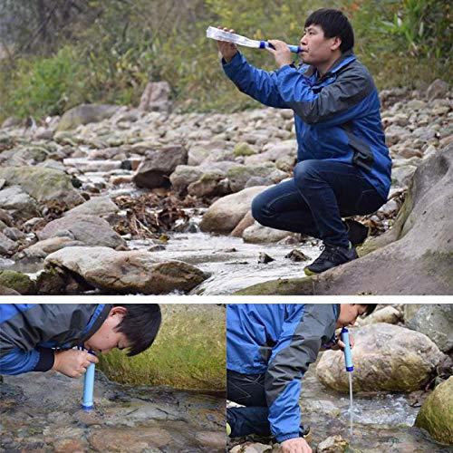 TQ Outdoor-Wasserfilter Camping Wandern Emergency Life Survival Tragbare Luftreiniger Wasserfilter
