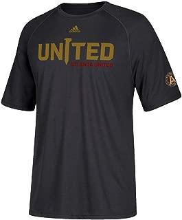 adidas Atlanta United FC MLS Men's United Spike Climalite Performance Black T-Shirt