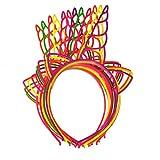 Brillante Vendas para mu/ñeca pajillas para Bailar Multicolor juergas o Fiesta Relleno 6 Trimming Shop 100 Barritas LUMINISCENTES Pulseras y Conectores