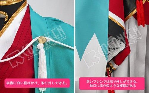 『刀剣乱舞 和泉守兼定 コスプレ衣装 修正版 (女性L)』の6枚目の画像