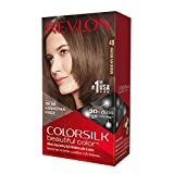 Revlon ColorSilk Haircolor, Medium Ash Brown (40) (Pack of 3)