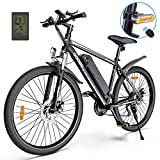 Electric Bike,Googo 26' Electric Mountain Bike with 350W Motor,Removable 36V...