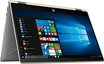 "HP Pavilion x360 14"" FHD WLED Touchscreen 2-in-1 Convertible Laptop, Intel Quad-Core i5-8250U 1.60GHz up to 3.4GHz, 8GB DD..."
