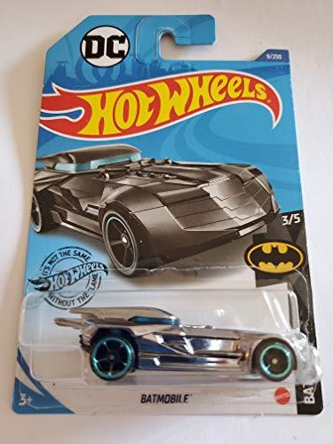 Hot Wheels 2020 DC Batman Batmobile, Gray Chrome 9/250 Kentucky