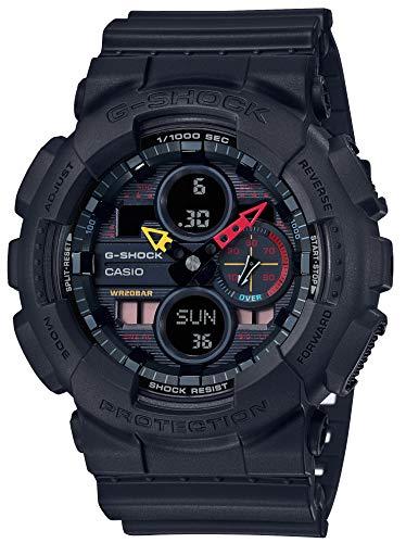 [カシオ] 腕時計 ジーショック Black ×Neon GA-140BMC-1AJF メンズ ブラック
