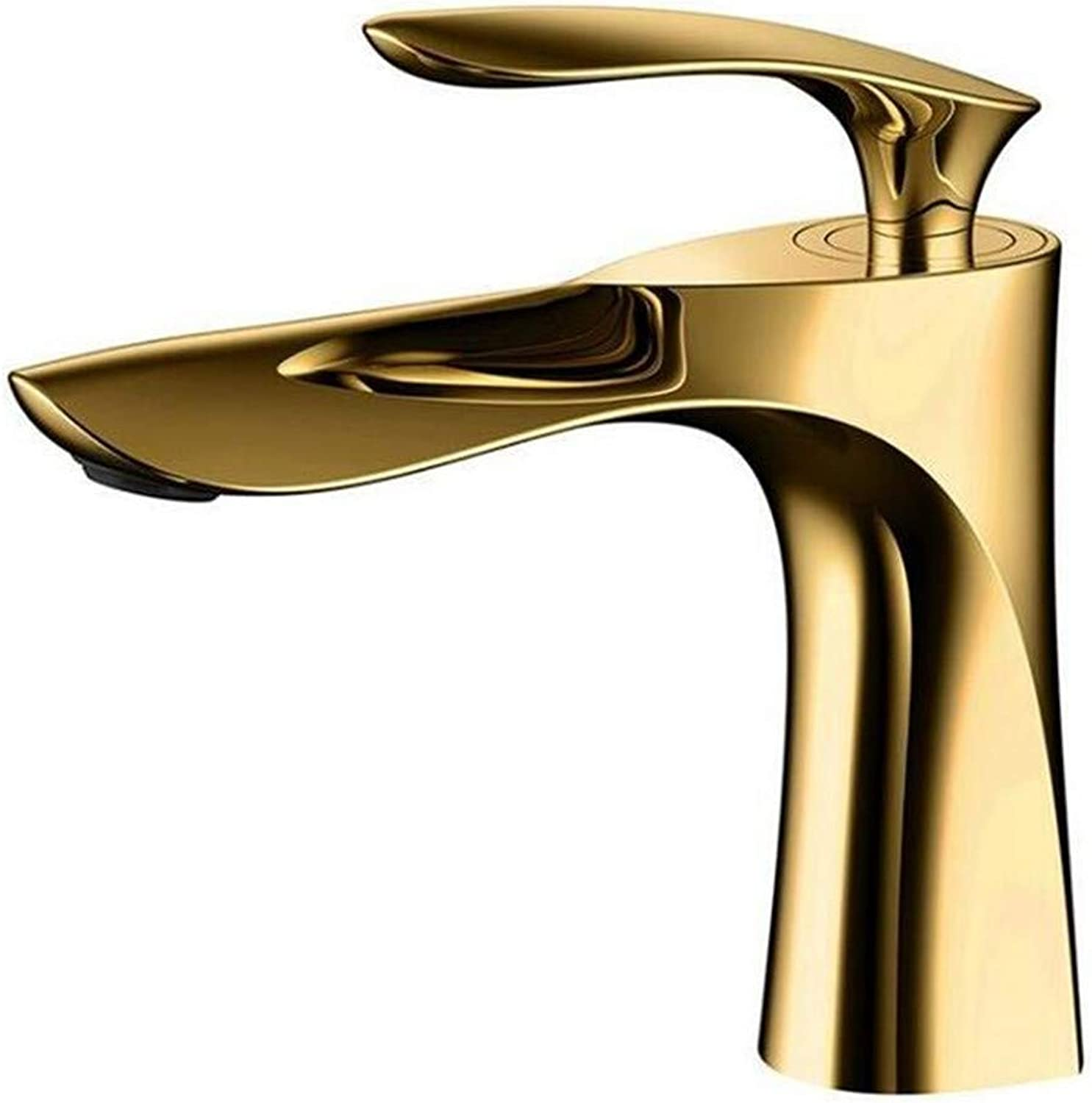 Bathroom Faucet Hot and Cold Water Basin Mixer Tap Chrome gold Black Brass Toilet Sink Water Crane