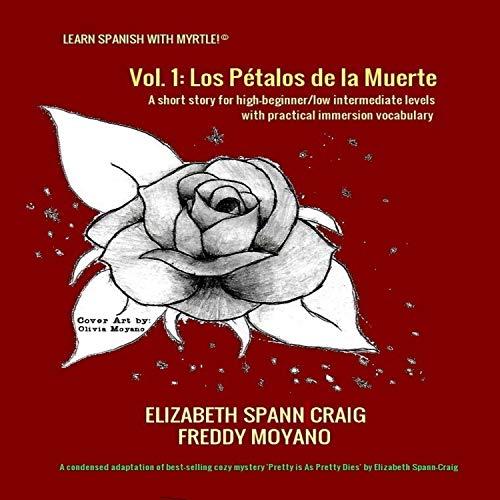 Couverture de Los Pétalos de la Muerte [The Petals of Death]
