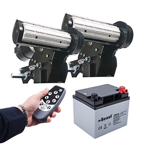 Carbest Cara-Move Rangierhilfe Set inkl 40 Ah Batterie und Ladegerät MXS-5 2250 Kg 1 & 2 Achser Wohnwagen