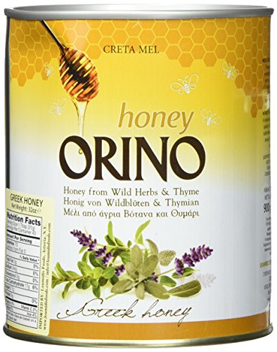 Honey with Thyme Orino 900g can