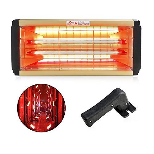 N\\A 2000 W pintura del coche lámpara de secado del cuerpo del coche pintura infrarroja lámpara de curado calentador halógeno luz de la hornada herramienta reparación auto accesorios 220 V