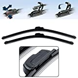 Power X Frameless Wiper Blade for Hyundai Elite i20 (Pack of 2)