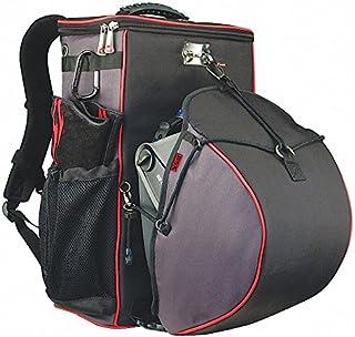 """19"""" Welders Tool Backpack, 8 Pockets, Black"""