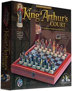 King Arthur's Court Deluxe Chess Set by Excalibur