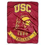 USC Trojans 'Rebel' Raschel Throw Blanket, 60' x 80'