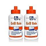 2x Dr. Becher Grill Rein für Grills, Fritteusen / 1 Liter