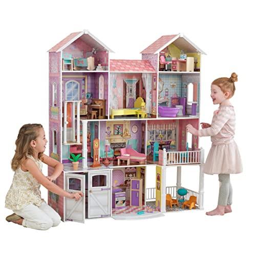 KidKraft 65242 Casa de muñecas Country Estate de madera