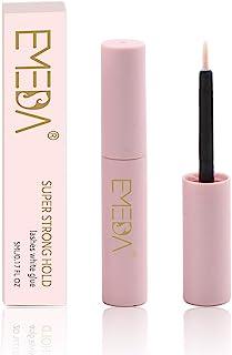 EMEDA Wimperlijm, eyelash glue, strip wimperlijm, sneldrogende latexlijm voor wimper transparent glue for lashes 5ml 0.17oz