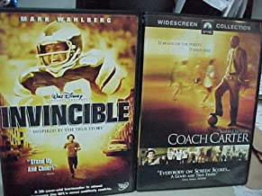 Invincible , Coach Carter : Sports Movie 2 Pack Collection