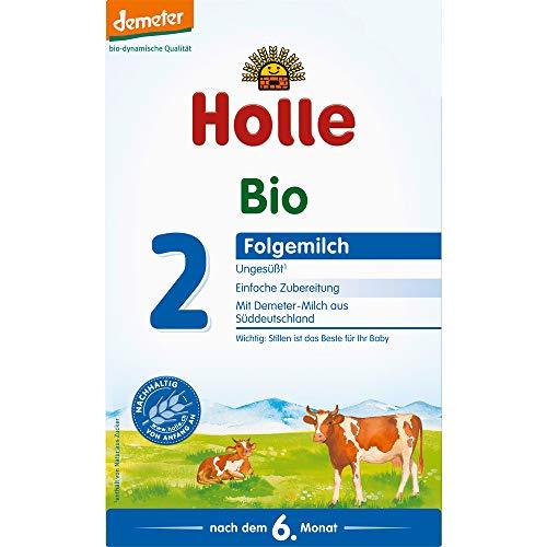 Holle Bio Bio-Folgemilch 2 (6 x 80 gr)