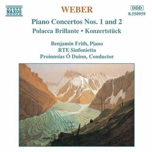 Piano Concertos 1 & 2 by C.M. Von Weber (2013-05-03)