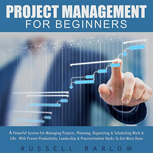 Project Management for Beginners Audiobook By Russell Barlow cover art