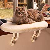 K&H Pet Products Kitty Sill Cat Window Hammock Perch (Heated or Unheated) Heated Fleece 14 X 24 Inches