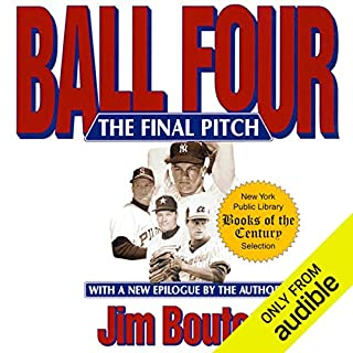 Ball Four audiobook cover art
