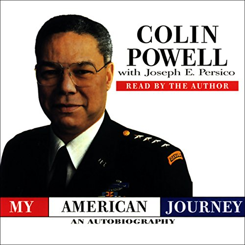 My American Journey audiobook cover art