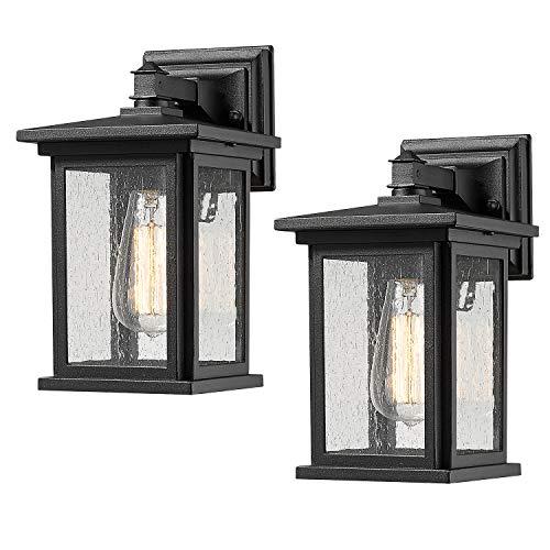 Bestshared Outdoor Wall Light Fixture, Exterior Wall Mount Lighting,...