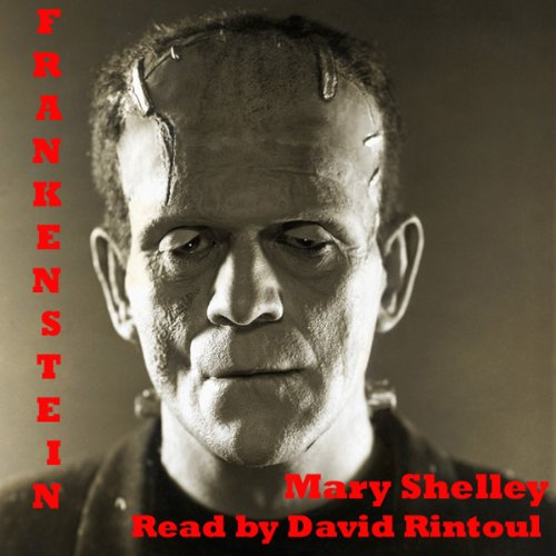 Frankenstein audiobook cover art