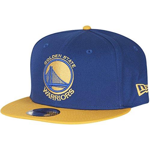 New Era 9fifty Golden State Warriors Offical Team Gorra de Color para Hombre, Hombre, Tapa, 11394832, Azul, L (Talla del Fabricante:M/L)