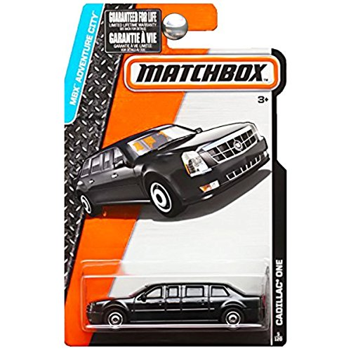 Matchbox 2015 MBX Adventure City 5/120: The Beast Cadillac One Limo Presidential Limousine by Matchbox
