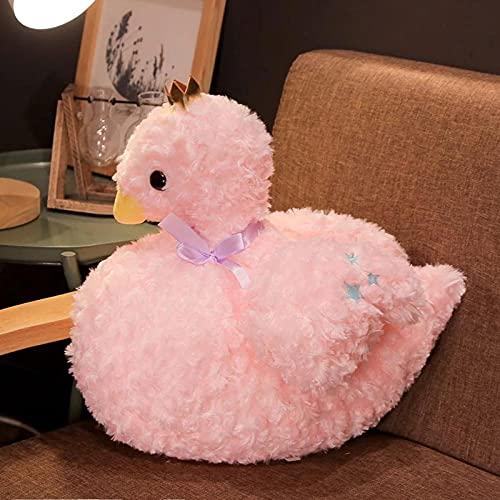 1Pc 40Cm Cute Cartoon Swan Plush Animal Stuffed Toy, Juguete para Niños, Regalo De Cumpleaños Decoración del Hogar