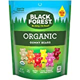 Black Forest Organic Gummy Bears Candy, 8 Ounce, Pack of 6, Assorted Flavors and Colors