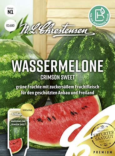 Wassermelone Crimson Sweet Samen, Saatgut