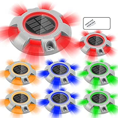 CHINLY Solar Driveway Lights