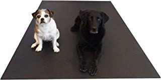 Multipurpose XXL Dog Mat. Can be Used as a Kennel Mat/Dog Bed/Dog Car Mat/Crate Mat or Training Mat. Anti-Slip, Cushioning Pet Mat. Can Be Cut to Fit Any Space. 7 1/2 Ft x 6 Ft, 7mm Thick & 26 lbs.