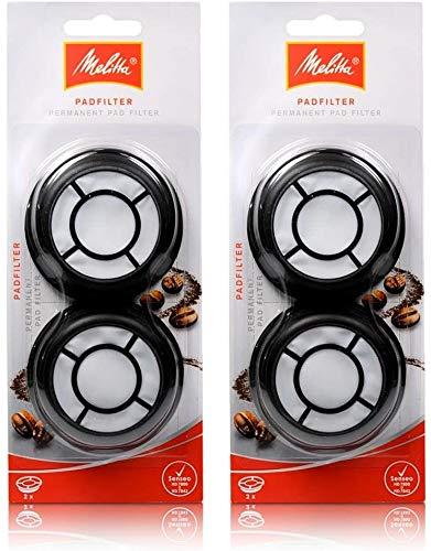 Original Melitta Padfilter Kaffeemaschine filter für Philips Senseo HD7800 Serie (2 stück)