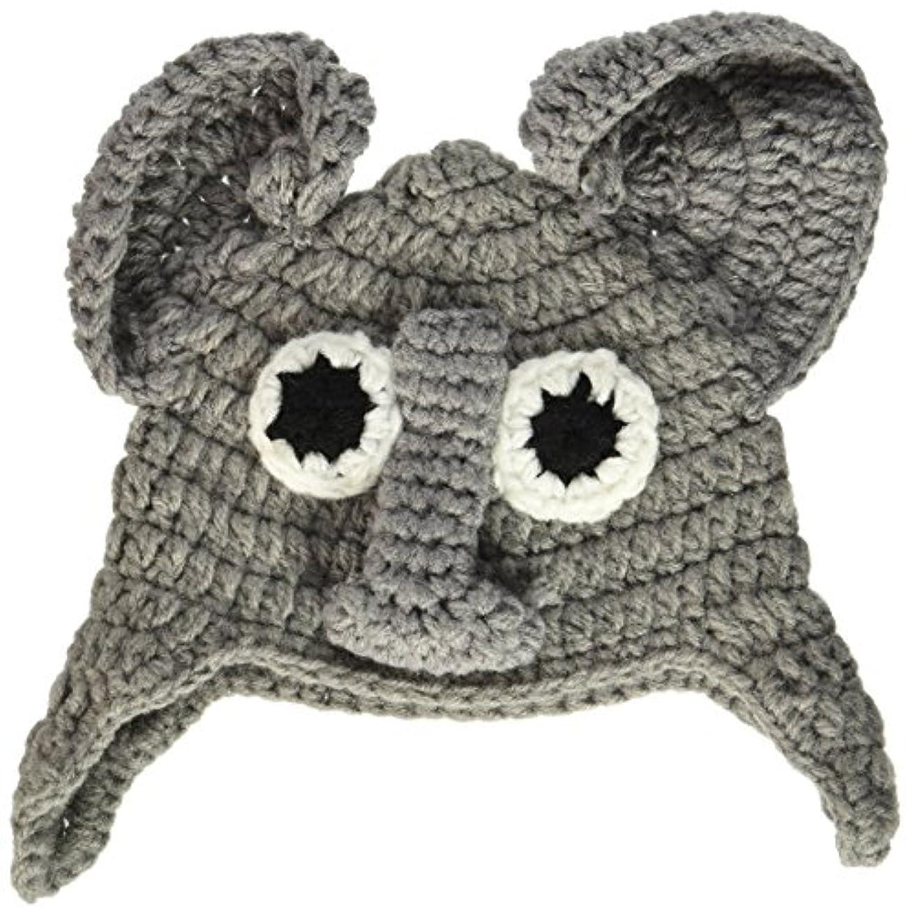 Boye Elephant Crocheted Hats for Babies