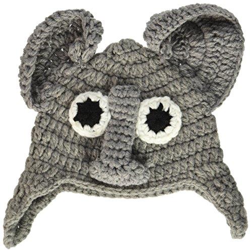 Boye de Ganchillo Sombreros para Babies-Elephant