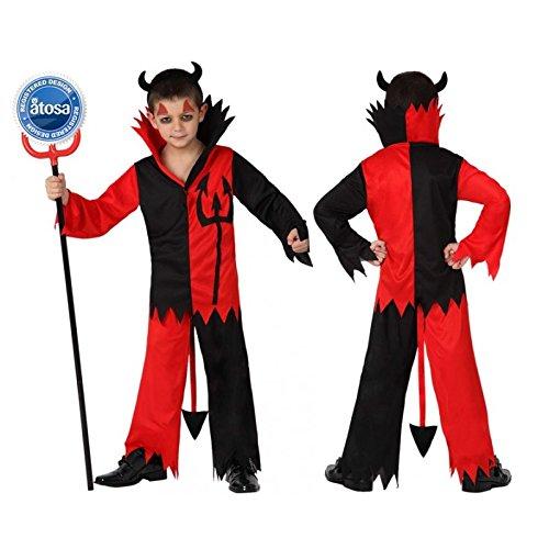 Atosa - 14961 - Costume - Déguisement De Diable - Garçon - T-4