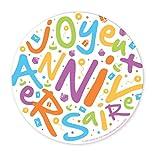 SCRAP COOKING Party - 0400 - 1 Disques Azyme - Joyeux Anniversaire