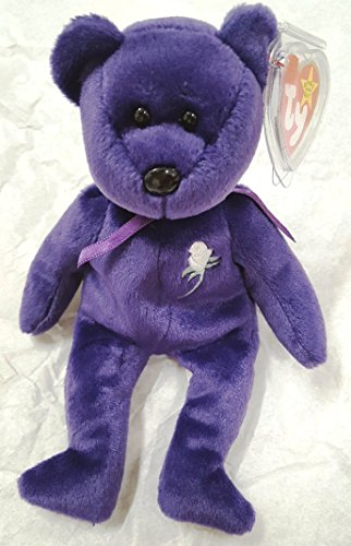 Ty Rare -Princess Diana Beanie Baby Mint Retired #472 PE Pellets 2nd Generation